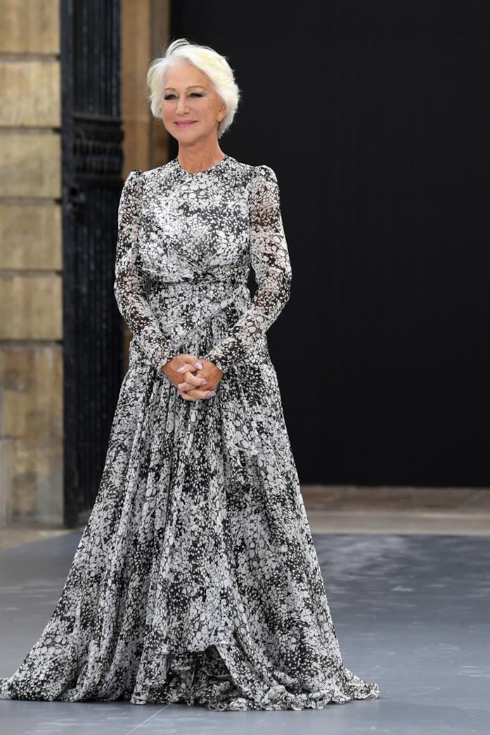 Helen Mirren a Parigi