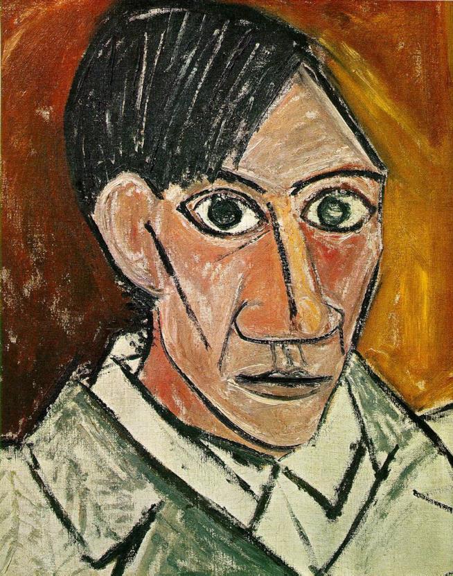 Un autoritratto di Picasso