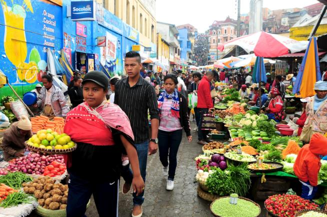 Il mercato di Analakely
