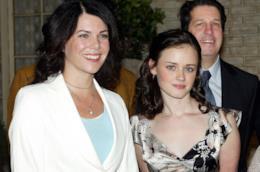 Le due protagoniste di Una mamma per amica: Alexis Bledel e Lauren Graham