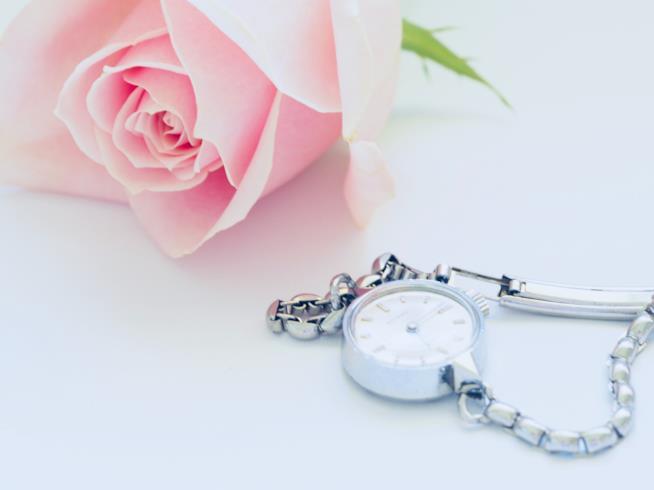 Primo piano di un orologio