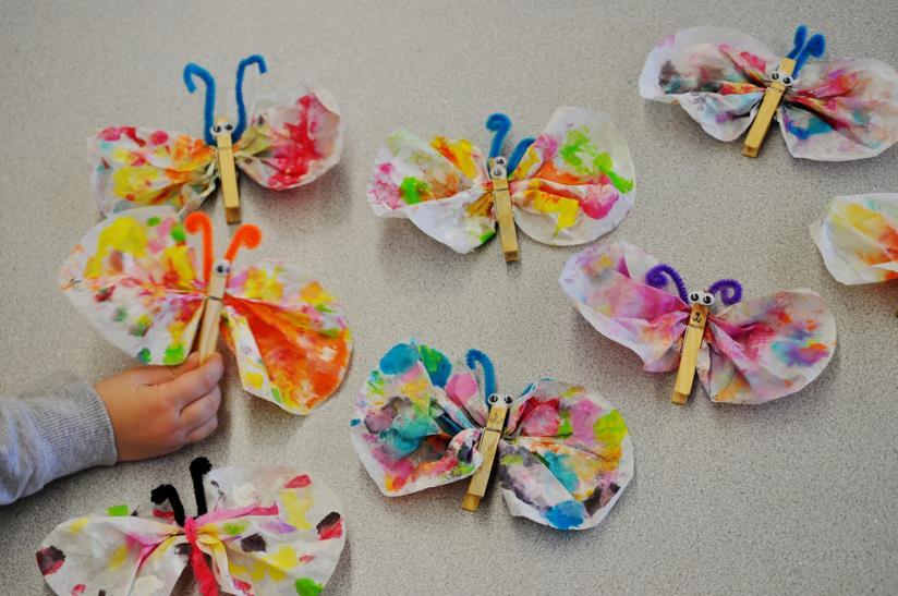 Craft a tema farfalle
