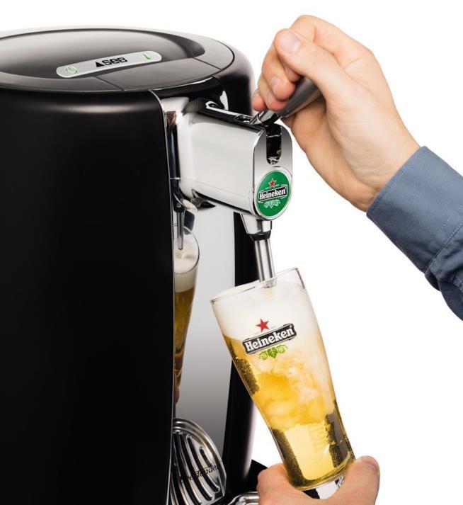 Birra che viene spillata