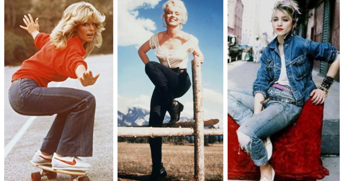 Blue jeans i modelli pi famosi che hanno fatto la storia for Storia della moda anni 50