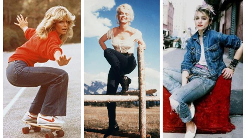 I jeans della storia, da Marilyn a Madonna