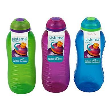 Set di tre mini bottiglie