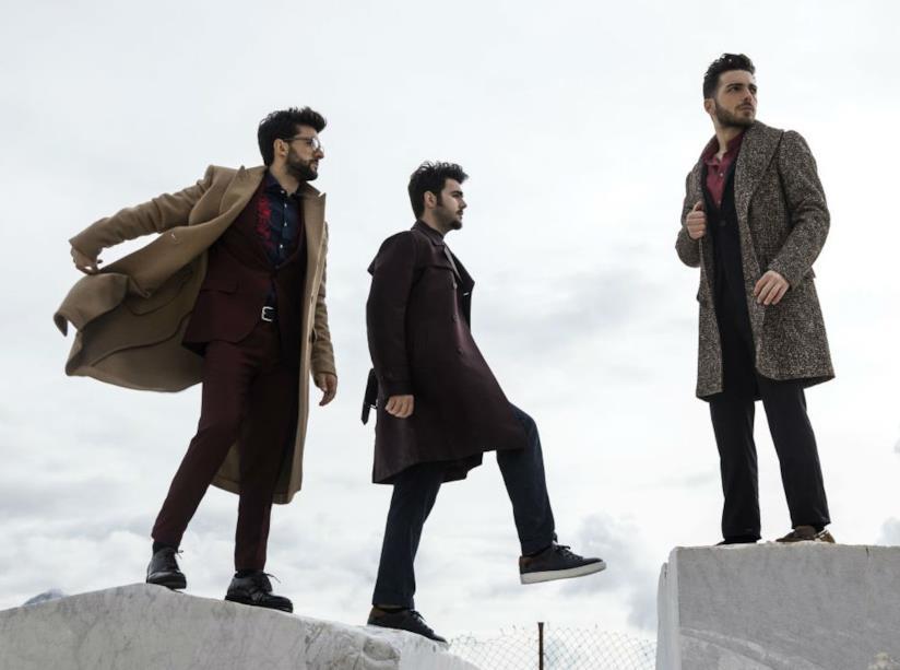 Copertina del nuovo album del gruppo Il Volo