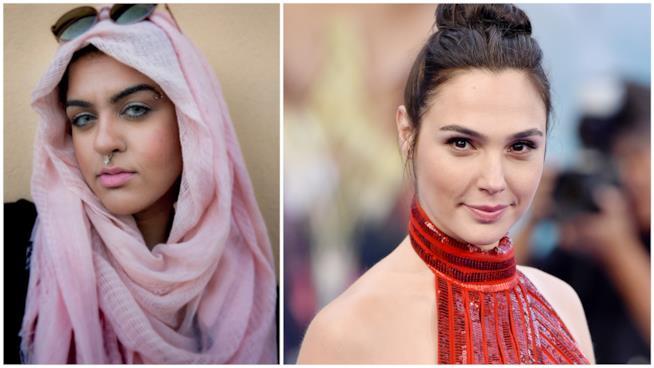 La blogger MuslimGirl e Gal Gadot