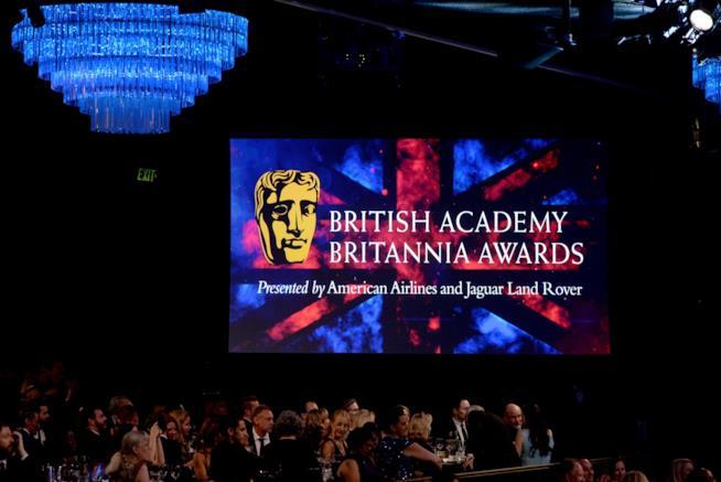 Il palco dei BAFTA