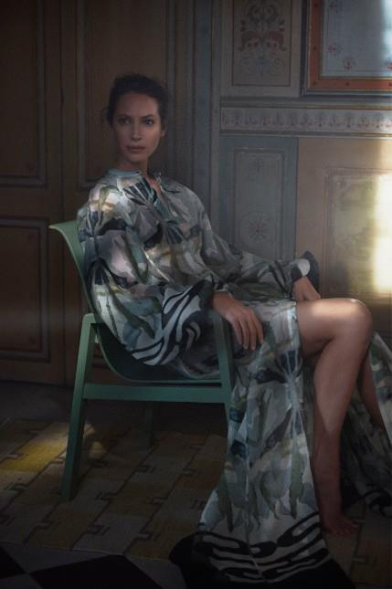 La supermodella per la linea Conscious Exclusive