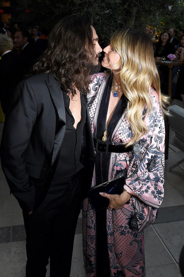 Heidi Klum e Tom Kaulitz a un evento