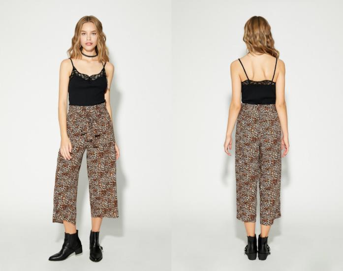Panta culotte di tendenza