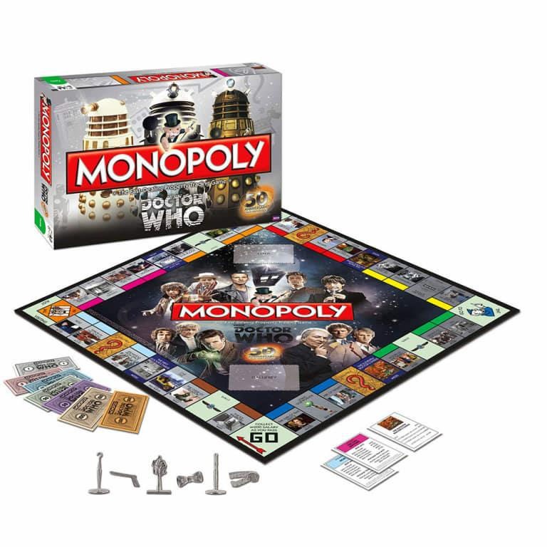 Edizione del Monopoli dei 50 anni di Doctor Who