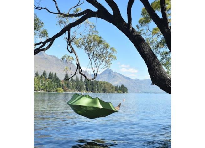 Lullio di Cacoon: amaca da campeggio con un punto di fissaggio