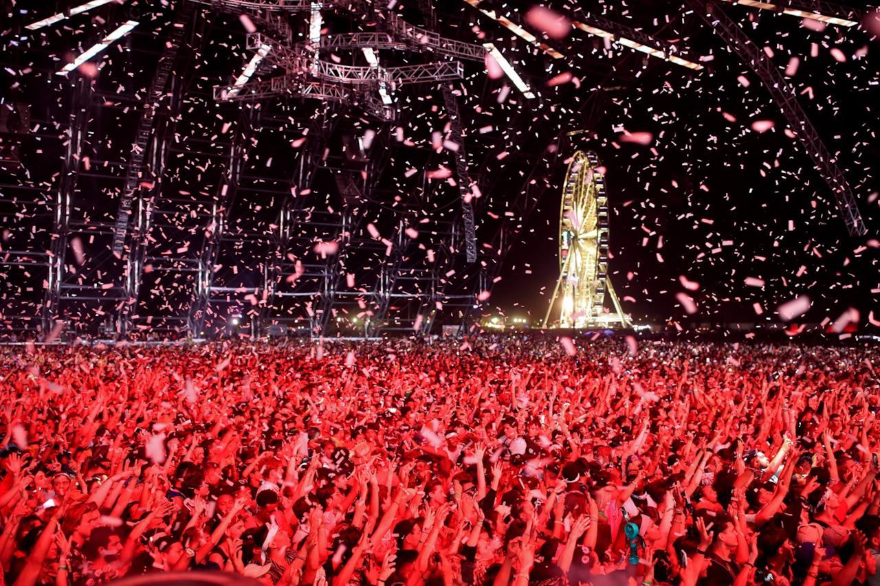 Foto del palco Coachella