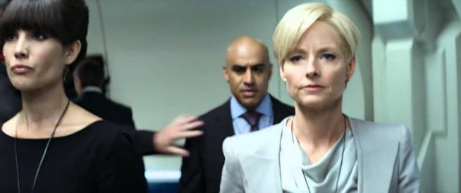 Jodie Foster in una immagine dal film Elysium