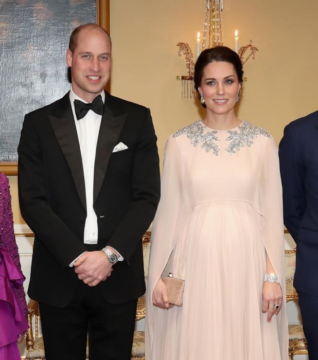 William e Kate in una delle loro ultime apparizioni pubbliche