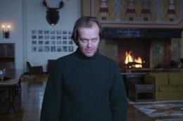 Una immagine di Jack Nicholson in Shining