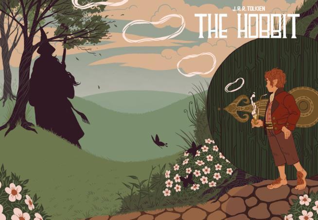 Illustrazione di Sara Kipin de Lo Hobbit