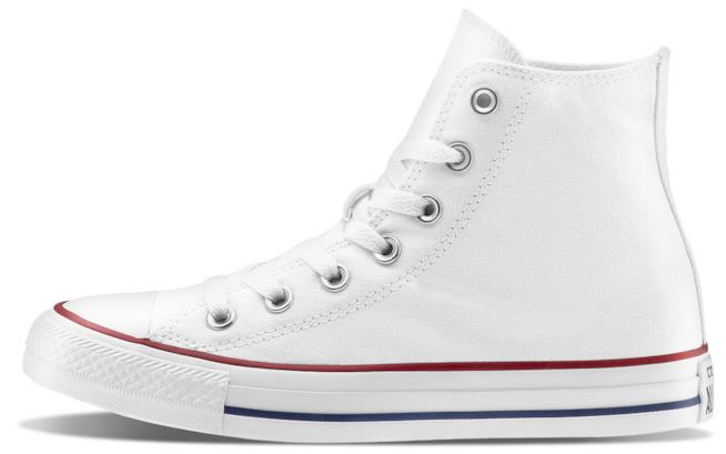 Sneakers Convers All Stars bianche per Natale