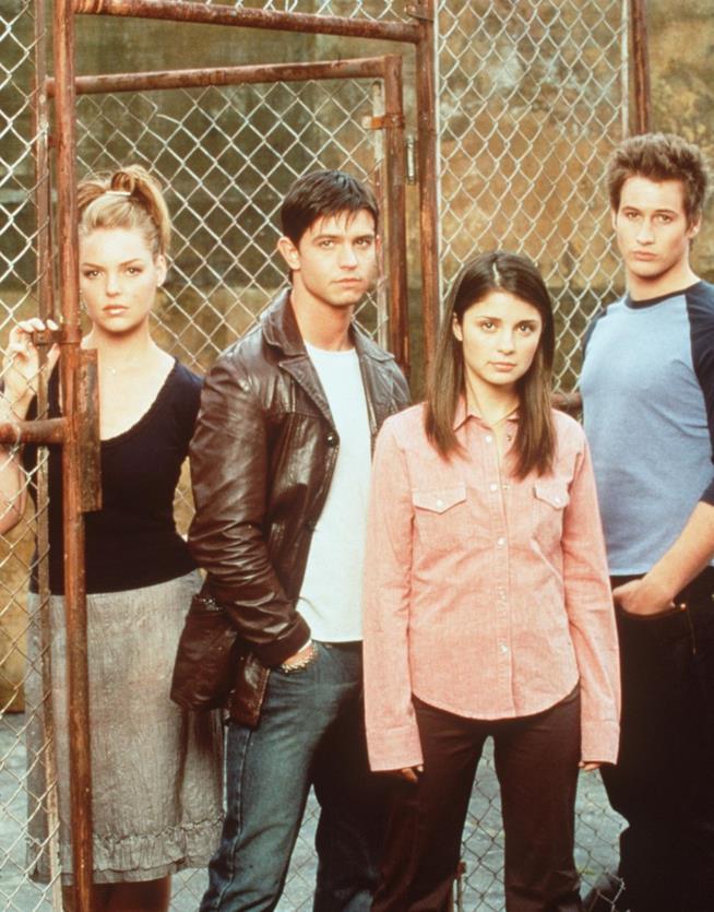 Katherine Heigl, Jason Behr, Brendan Fehr e Shiri Appleby: quattro dei protagonisti di Roswell