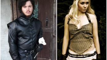 I costumi da Jon Snow e Daenerys Targaryen per Halloween
