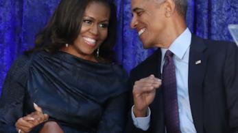 Barack Obama e la moglie Michelle