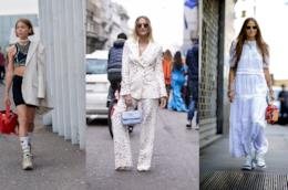 Outfit casual chic dallo Street Style Londra P/E 2019
