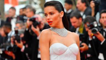 Adriana Lima al Festival di Cannes