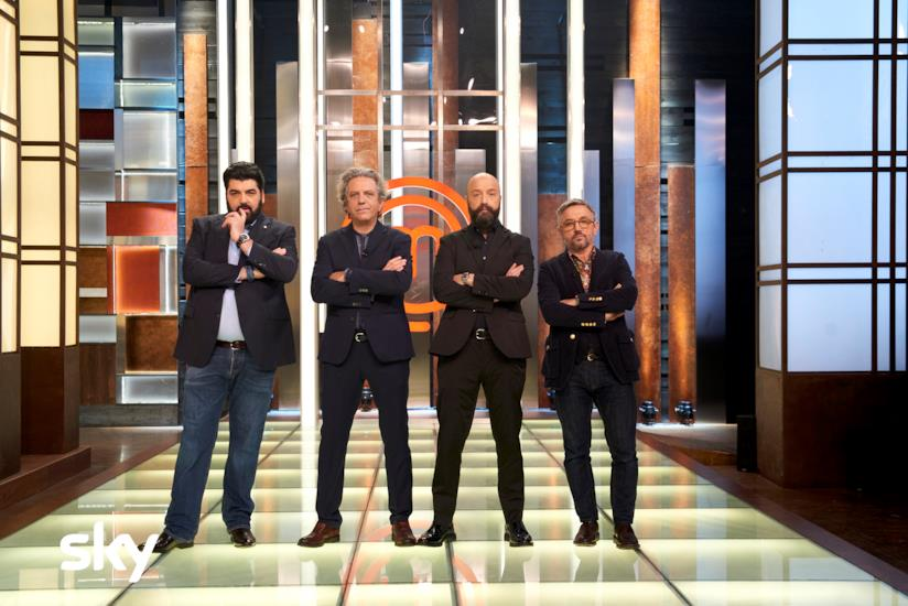 I 4 giudici di MasterChef Italia
