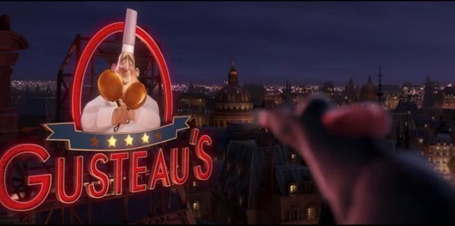 """Scena tratta dal film Disney Pixar """"Ratatouille"""""""
