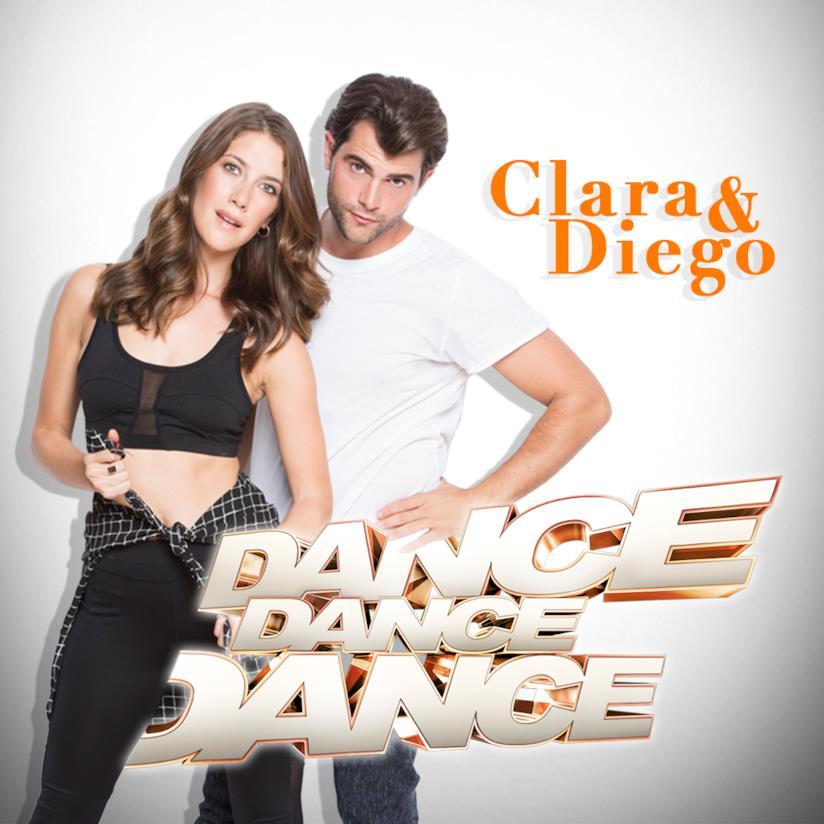 Clara Alonso ballerà insieme a Diego Dominguez sul palco di Dance Dance Dance