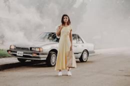 Selena Gomez in un'immagine del photoshoot di Fetish