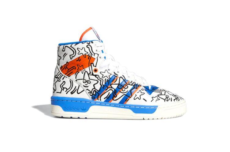 Adidas sneakers Rivalry HI X Keith Haring