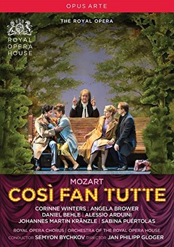 Mozart Wolfgang Amadeus - Cosi Fan Tutte