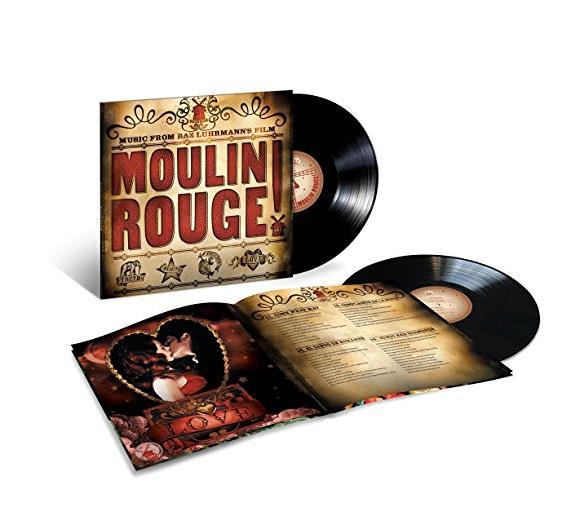 Mouline Rouge!, la confenzione del vinile della colonna sonora