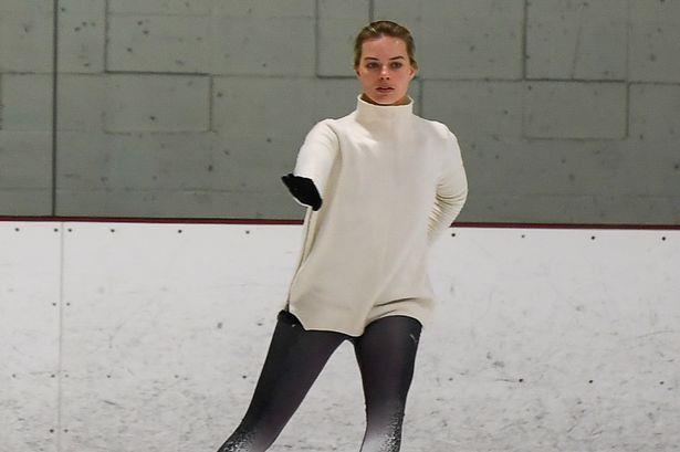Una immagine di Margot Robbie protagonista del film I, Tonya