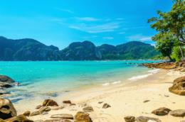 Una spiaggia della Martinica