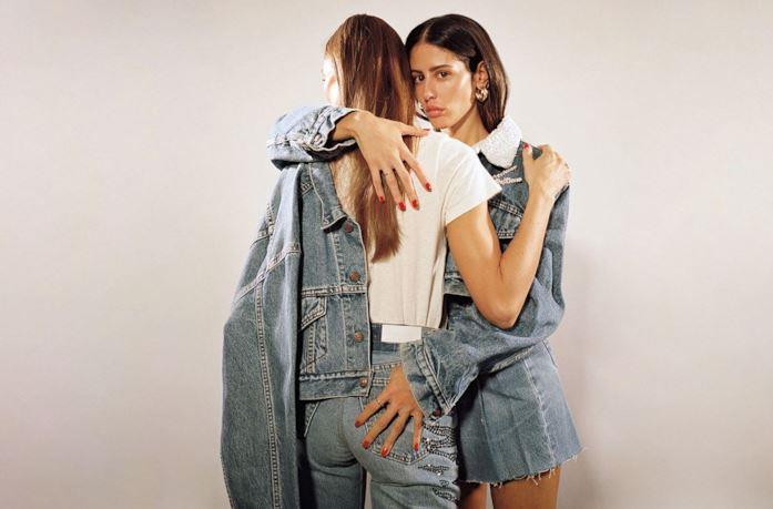 Giorgia Todini e Gilda Ambrosio posano per la campagna Attico x Re/Done