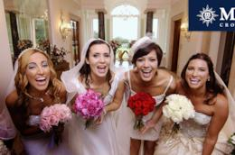 Sorridenti e bellissime: le spose di Quattro Matrimoni