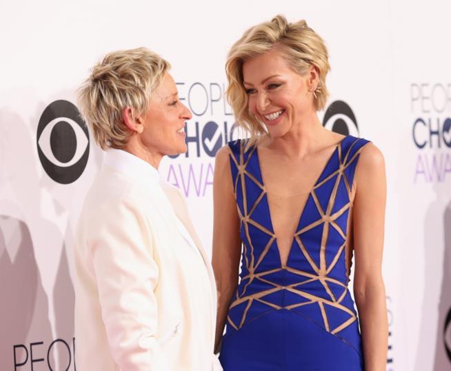 Ellen DeGeneres e Portia de Rossi, innamorate e unite