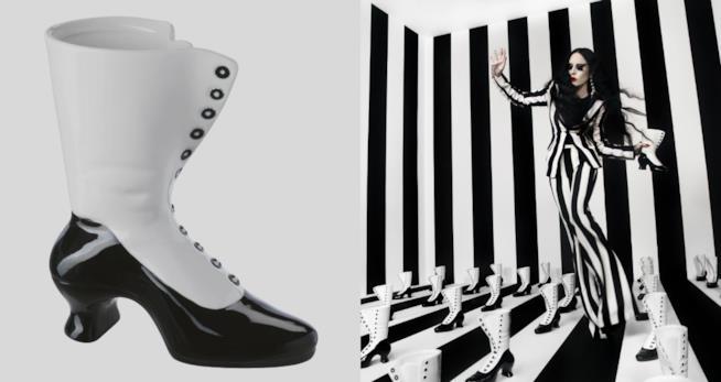 Vasi-scarpe della linea Ikea OMEDELBAR