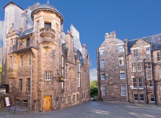 Il museo degli scrittori a Edimburgo