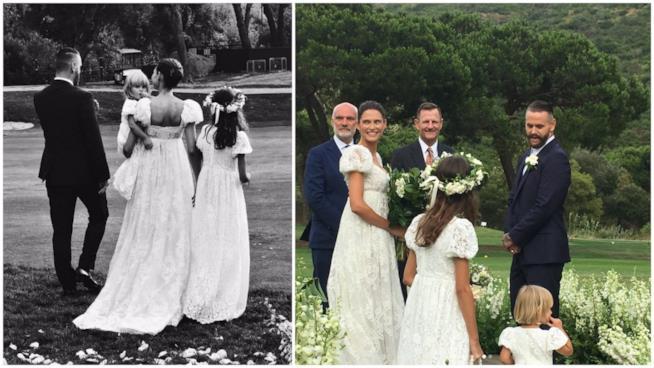 Alcuni scatti del matrimonio di Bianca Balti e Matthew McRae
