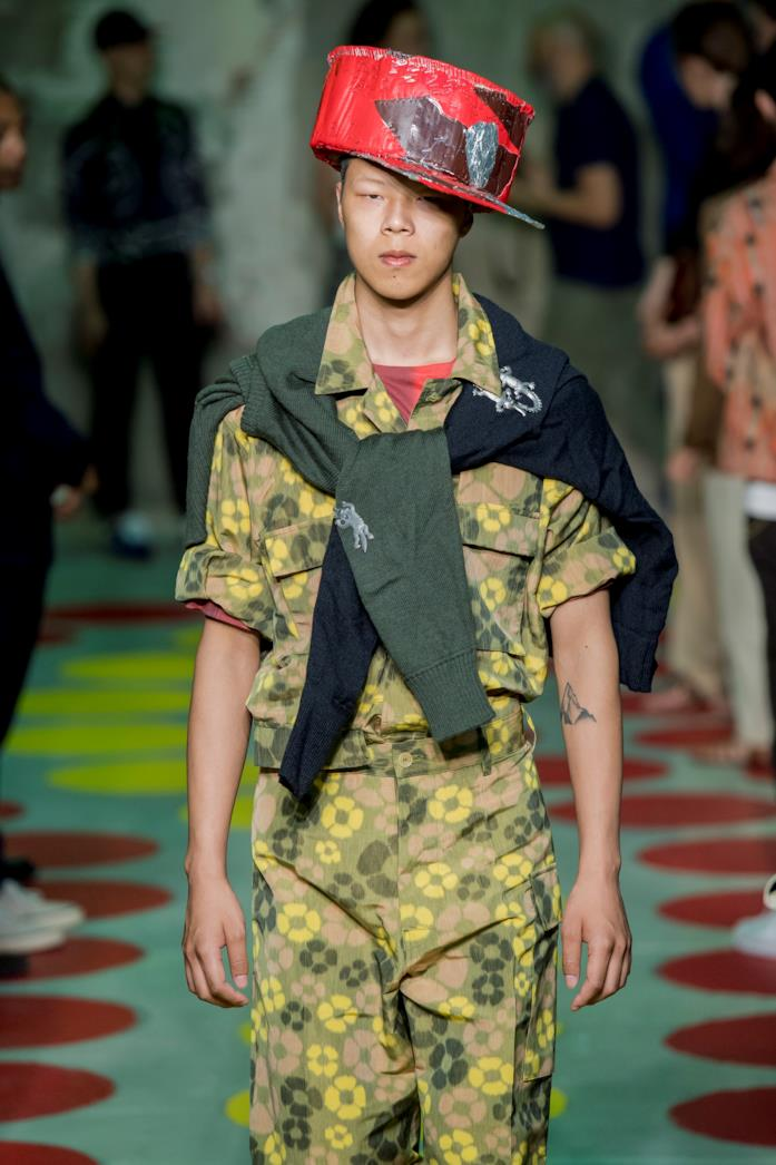Tendenza camouflage SS 2020