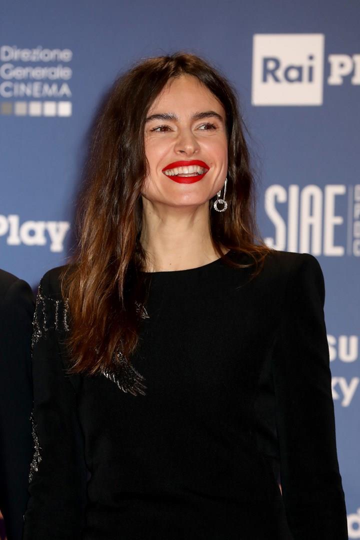 Kasia Smutniak hairstyle