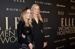 Nicole Kidman e Charlize Theron agli Elle Women in Hollywood