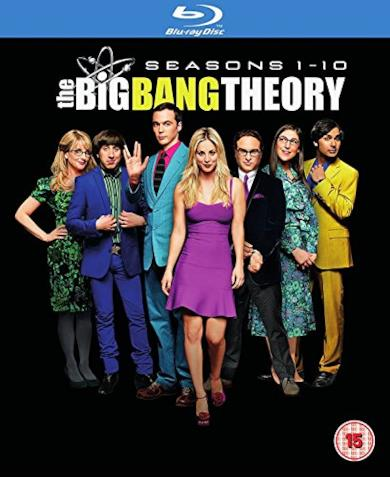 Cofanetto Blu-ray di The Big Bang Theory - Seasons 1-10