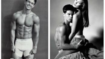 L'attore Mark Wahlberg prima di diventare famoso ha lavorato come modello