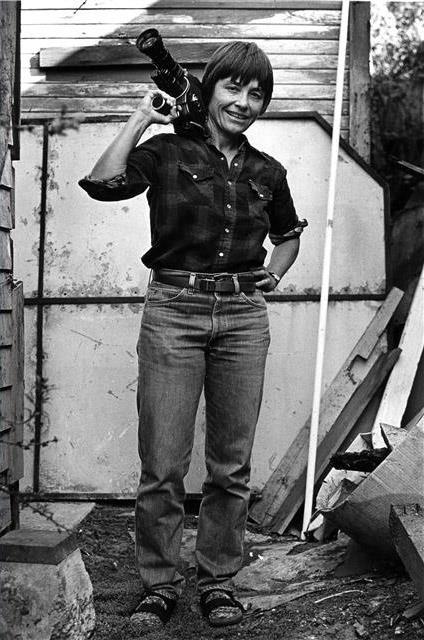 La filmaker Barbara Hammer
